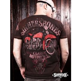 Футболка Classic Motorcycle - Sinner's Bones