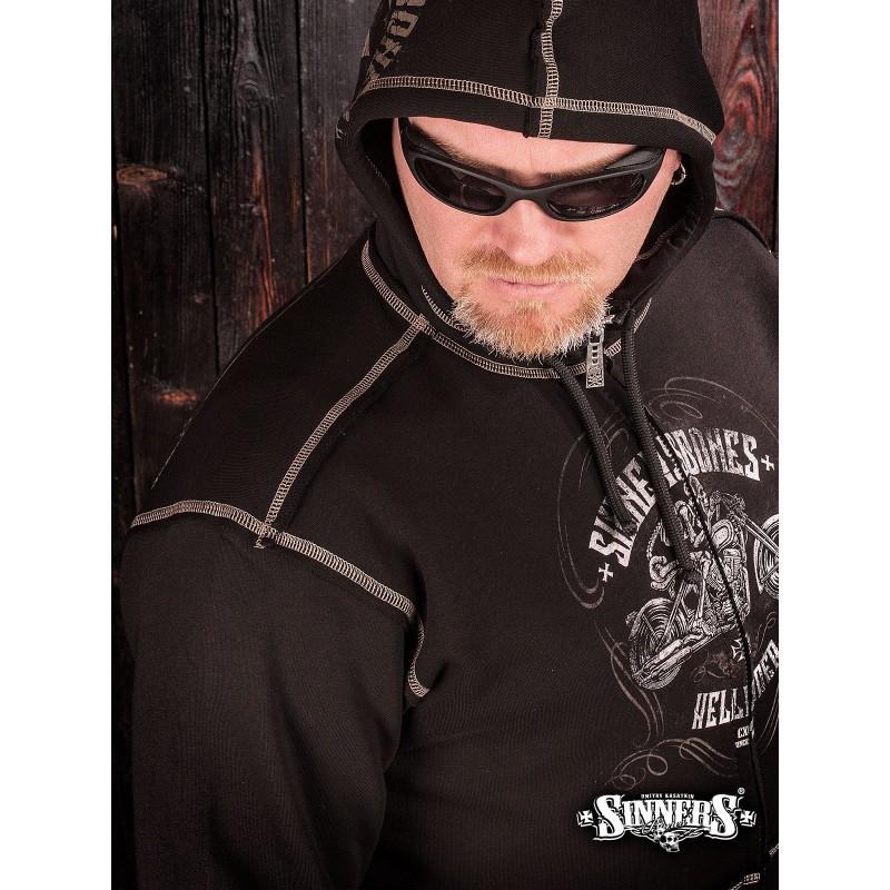 Толстовка с капюшоном HELLRIDER - Sinner's Bones