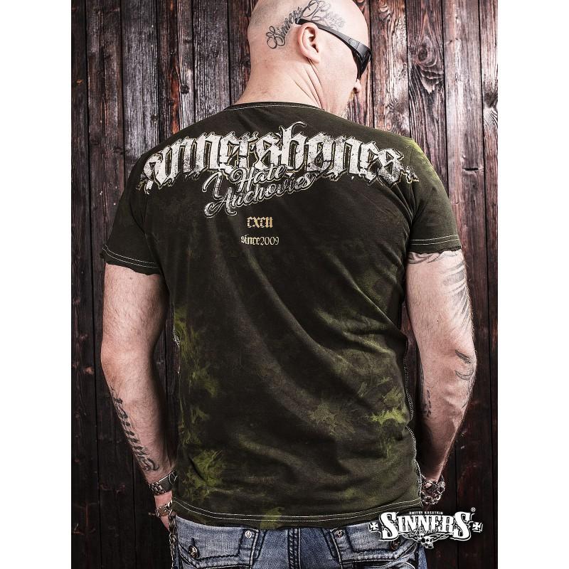 Футболка I Hate Anchovies - Sinner's Bones