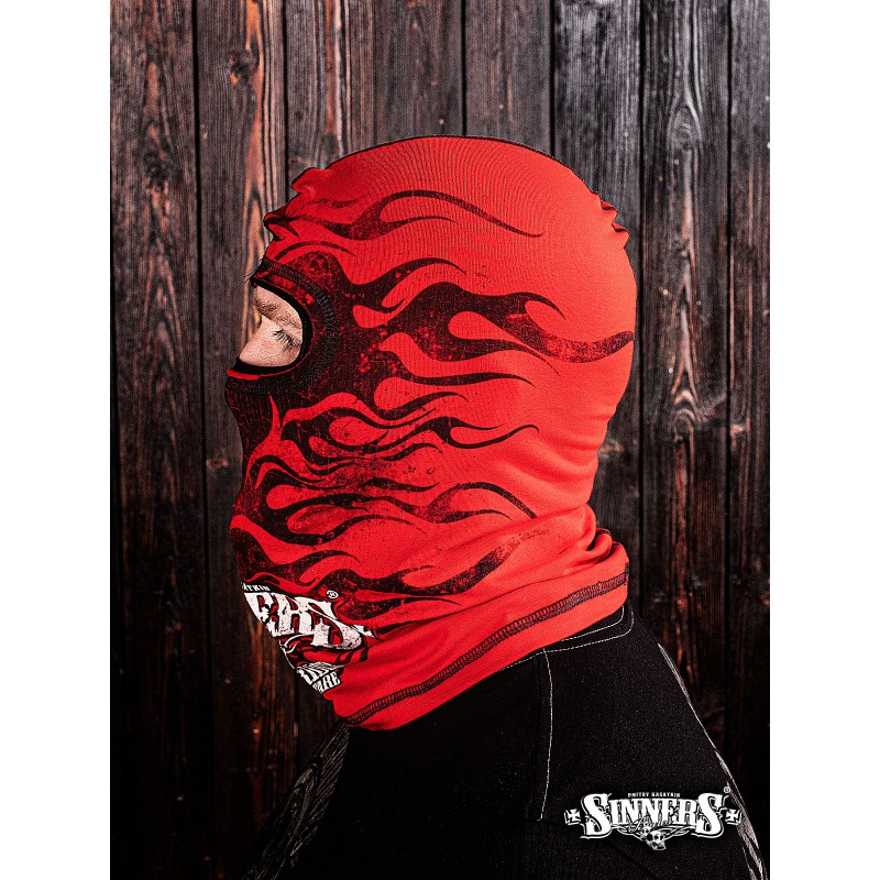 """Подшлемник красный """"Ghost Rider"""" - Sinner's Bones"""